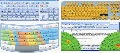 Virtual On-Screen Keyboard for TabletPC, UMPC