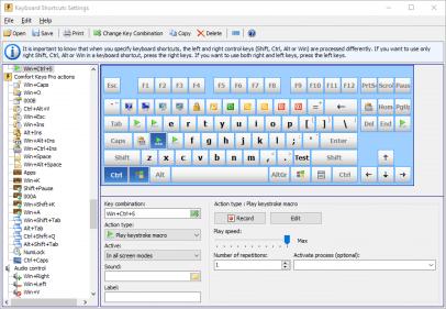 Hotkey Program | Comfortable Keyboard | Comfort Keys Pro