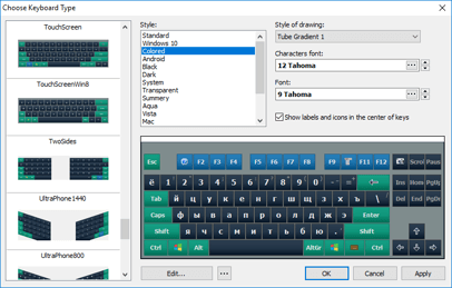 Comfort On-Screen Keyboard Pro
