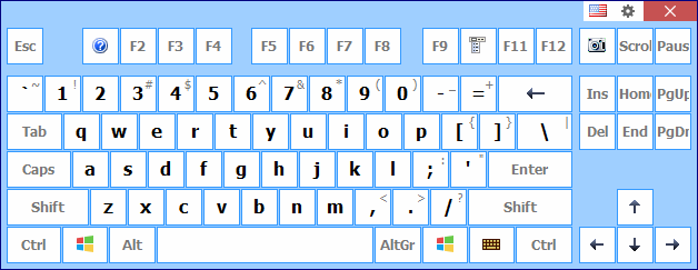 Comfort Keyboard Pro English