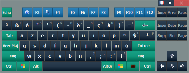 Comfort Keyboard Pro French
